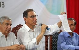 Vizcarra called for a vote of confidence on Sunday to force passage of legislation to curb graft and rebuild trust in public institutions
