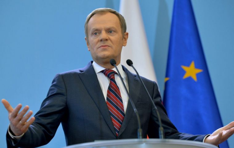 "European Council head Donald Tusk said that ""the suggested framework for economic cooperation will not work"""