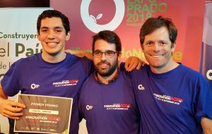 Eleven teams took part in the competition, and among them, the proposal of Emilio Sarturi, Manuel Lorenzo and Joao Antonio Martins was the selected winner