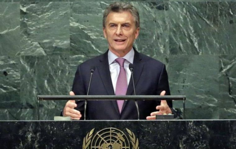 "Macri will ""present the reality of the economic and financial situation,"" address queries over ""negotiations with the IMF and rekindle the interest of the investors."""