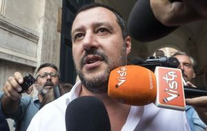 "Italy's Interior Minister Matteo Salvini, denies his country put pressure on Panama, ""I don't even know Panama's area code,"" he tweeted."