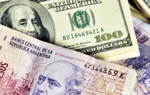 The currency has lost around 50% of its value against the dollar this year, amid wider jitters in emerging markets.