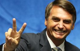 Bolsonaro held steady at 28% of voter approval in the first round as compared to the same Ibope poll released last week