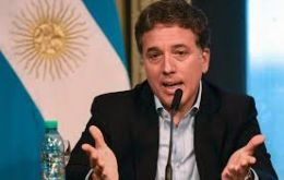 Nicolas Dujovne confirms he is the strong man of the Argentine economy