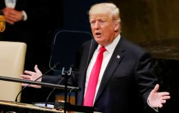 """Today, socialism has bankrupted the oil-rich nation and driven its people into abject poverty,"" Trump said in remarks to the United Nations General Assembly"