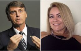 Folha de S.Paulo reported that Ana Cristina Valle had told Brazil's foreign office she left the country because of the threat by far-right congressman Jair Bolsonaro