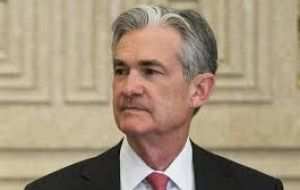 "Chairman Jerome Powell said that the Fed did not have a precise estimate of where ""accommodation ends"""