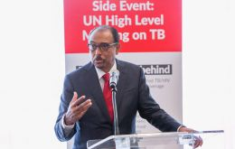 """Today is a landmark in the long war on TB,"" said Dr Tedros Adhanom Ghebreyesus, Director-General of the World Health Organization"