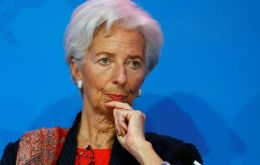 Subject to IMF board approval, financing would no longer be discretionary, but would be readily available to the government for budget support, said Lagarde