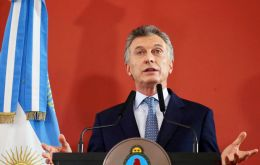 Macri promised to increase social spending to protect the poor and acknowledged the coming months would be difficult for Argentines