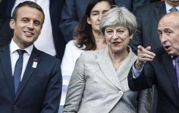 UK PM Theresa May said the decision is for the football associations to make. If they decide to go forward, they can count on this government's full support.""