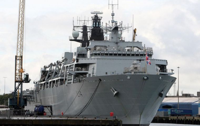 Britain's new cutting-edge Type 26 frigates will be called HMS Birmingham, becoming the fourth Royal Navy ship to bear that name. Photo: HMS Albion