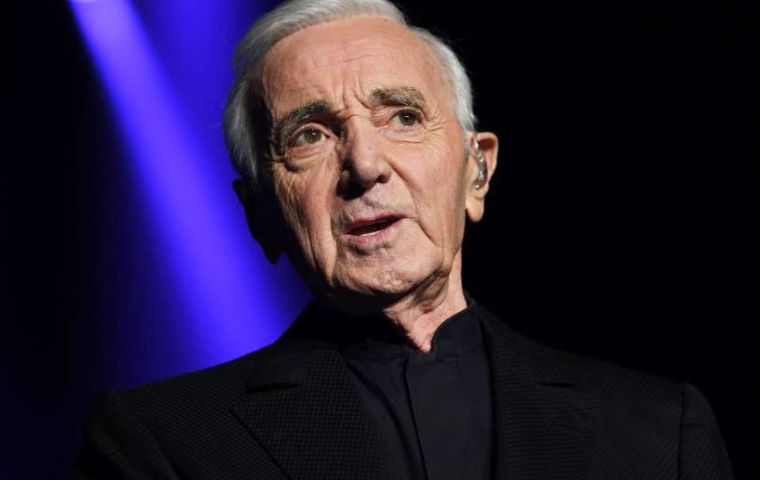 Often compared to Sinatra, Aznavour started his career as a songwriter for Piaf, but it was she who took him under her wing, encouraging him to sing