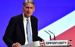 Hammond defended Theresa May's under-fire plan for post-Brexit trade with the EU, which has been dismissed by Brussels.
