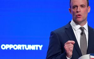 "Brexit minister Dominic Raab told the EU to ""get real"" and reach a deal with the UK, and said EU chiefs had disrespected Theresa May with ""jibes"""