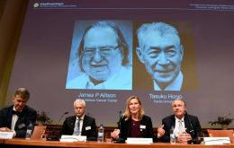 """Allison and Honjo showed how different strategies for inhibiting the brakes on the immune system can be used in the treatment of cancer"""