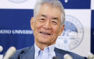 Tasuku Honjo, professor at Kyoto University since 1984, separately discovered a second protein on immune cells and revealed that it too operated as a brake