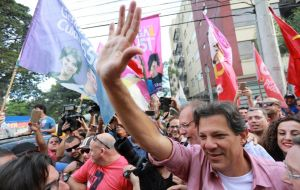 Economist Fernando Haddad has been meeting with major investors to quell fears about a Workers Party, PT, return to power