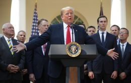 """We have negotiated this new agreement based on the principle of fairness and reciprocity,"" president Trump said during a press conference in the Rose Garden"