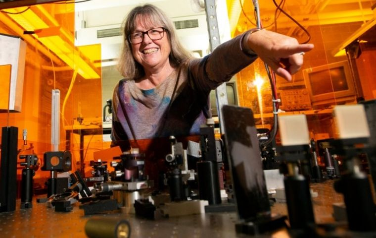 Canada's Donna Strickland, of University of Waterloo, is only the third woman to win a Nobel for physics: Marie Curie in 1903 and Maria Goeppert-Mayer in 1963