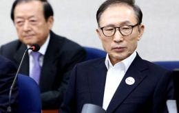 Lee Myung-bak, 76, was president of South Korea between 2008 and 2013.