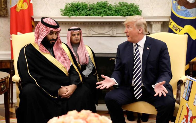 """I love working with him. You know, you have to accept that any friend will say good things and bad things,"" Prince Mohammed said in a interview on Friday"