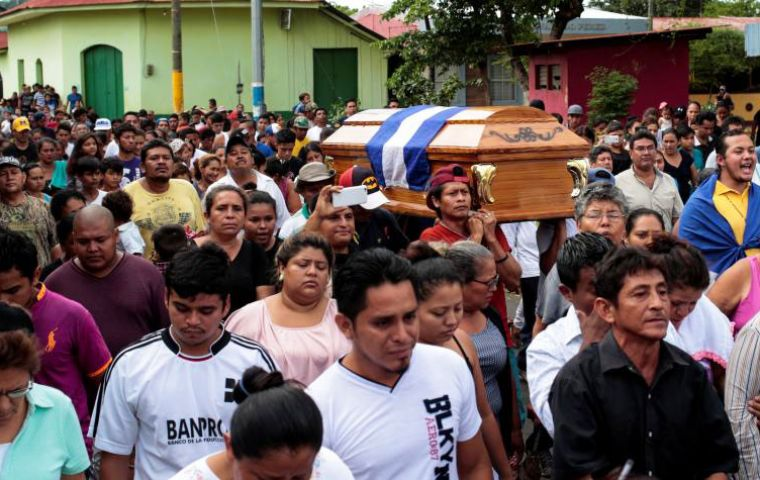 WMA Latin-Ibero branch reports that street protests in Nicaragua are being met with disproportionate use of force resulting in hundreds of deaths