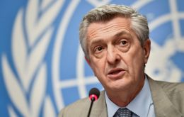 """Being here symbolizes the will of the international community to be close to Colombia in this very important effort to respond to a monumental crisis,"" told Grandi."