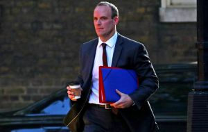 Technical talks are continuing at official level in Brussels this week, but no visit by Brexit Secretary Dominic Raab has been announced