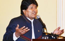 Morales said Bolivia respects the ruling of the International Court of Justice (ICJ), which also mentions that the two countries are not prevented from continuing dialogue.