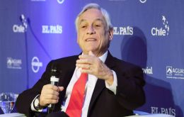 "Piñera said in Madrid that Latin America was a ""very convulsed"" place and underlined Argentina's very complex economic situation."