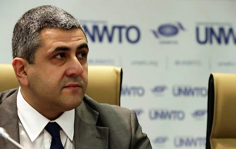 """Tourism data for the first half of 2018 serves as further proof of the sector's resilience and relentless growth trajectory"" said UNWTO Zurab Pololikashvili."