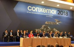 Conxemar Seafood Exhibition in Vigo Spain with more than 700 exhibitors received 35,000 visitors, they estimated business volume in more than 2,000 million euros.
