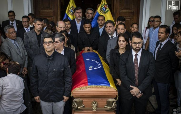 The Lima Group demanded the Government of Venezuela conducts an immediate, impartial, and independent investigation to clarify facts that caused Albán's death