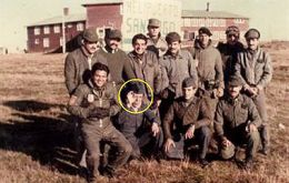 Mario Ramón Luna was killed during the Goose Green battle, 28 May 1982, the first full land combat between Argentine and British troops in the Falklands