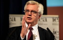 "David Davis wrote that May's blueprint for continued ties with the EU under her Chequers plan is ""completely unacceptable."""