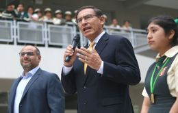 Vizcarra took office in March to replace former president Pedro Pablo Kuczynski, who resigned in a graft scandal on the eve of his near-certain impeachment