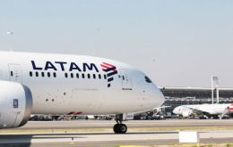 Latam expects to carry 65,000 passengers yearly with three weekly flights to Tel Aviv