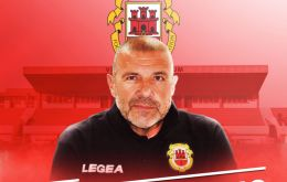Julio Ribas, the Uruguayan coach of Gibraltar's national team which in less than a week beat Armenia and Liechtenstein in UEFA League D4 group (Pic Chronicle.gi)
