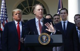 Trade Representative Robert Lighthizer notified Congress of plans to open negotiations with the UK, as well as with the EU and Japan