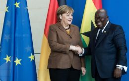 The commitment follows a request from Angela Merkel, President Nana Addo Dankwa Akufo-Addo of Ghana, and Prime Minister Erna Solberg of Norway