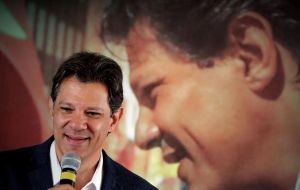 Haddad lost one percentage point from the previous poll