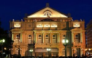 "The Teatro Colón has been described as ""a true monument of theatrical, lyrical and acoustic art, undoubtedly the best of all time."""