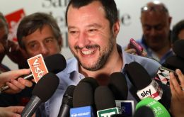 The League, led by Deputy Prime Minister Matteo Salvini, garnered more than 27%, almost twice as much as the center-left Democratic Party