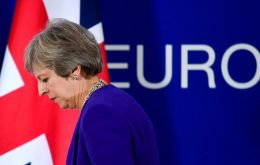 "While willing to consider extending the UK's transition period beyond 2020, Mrs. May said this was ""undesirable"" and would have to end ""well before"" May 2022"