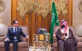 A Treasury Department spokesman said Steven Mnuchin and the crown prince had discussed economic and counter terrorism issues, and Mr Khashoggis' death