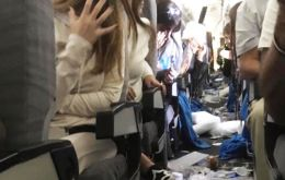 Severe turbulence caused havoc and left 15 Aerolíneas Argentinas passengers injured.