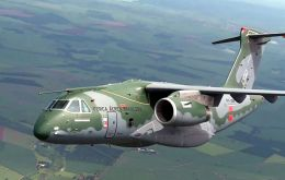 The Embraer KC-390 is regarded as a successor to the famous Hercules C-130.