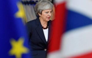 The UK is due to leave the EU in March, with Mrs. May under increasing pressure to find a breakthrough in time after a lack of progress at last week's summit