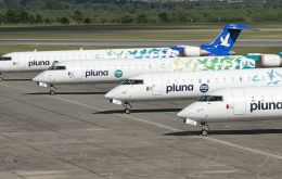 A Panamanian investment company is said to have purchased 75% of PLUNA's shares and now plans to seek financial compensation for the closing of the airline.